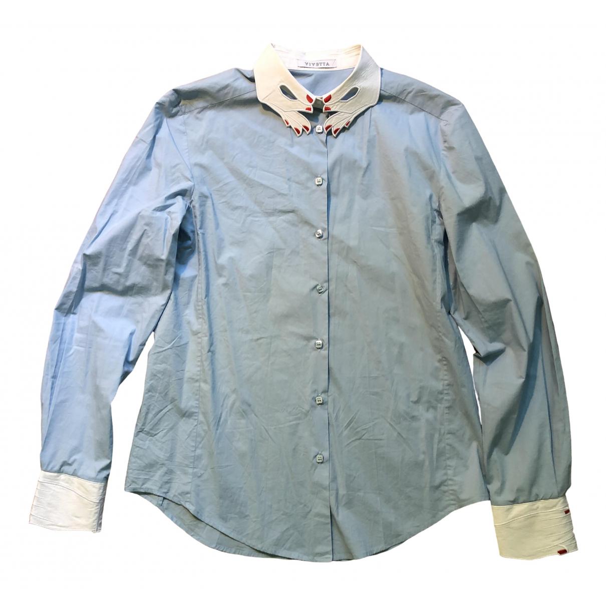 Vivetta \N Blue Cotton  top for Women 46 IT