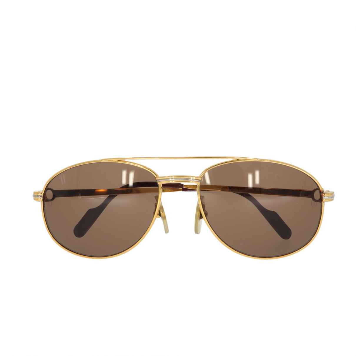Cartier N Gold Metal Sunglasses for Women N