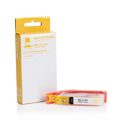 Canon CLI-42Y 6387B002 cartouche d'encre compatible jaune - Moustache®