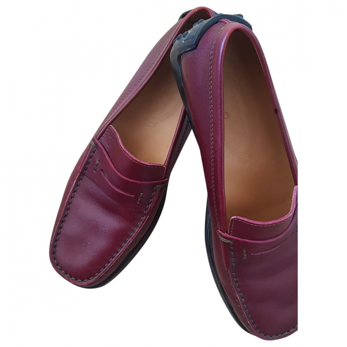 Tod's Gommino Leather Flats for Women 38 EU