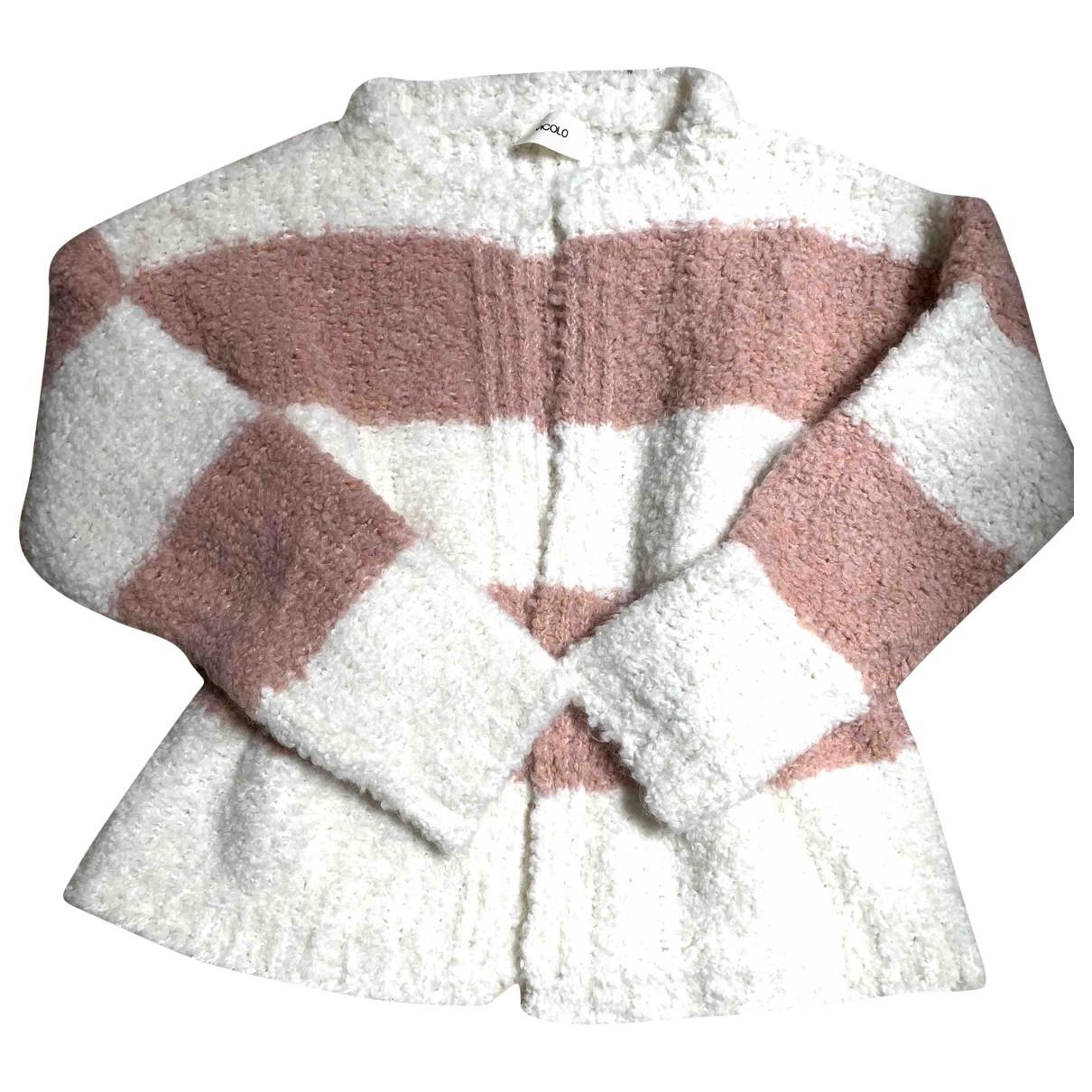 Vicolo - Pull   pour femme en laine - rose