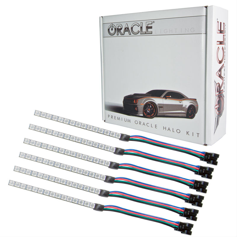 Oracle Lighting 2267-334 Ford Mustang 2015-2018 ORACLE ColorSHIFT Concept Strip Kit