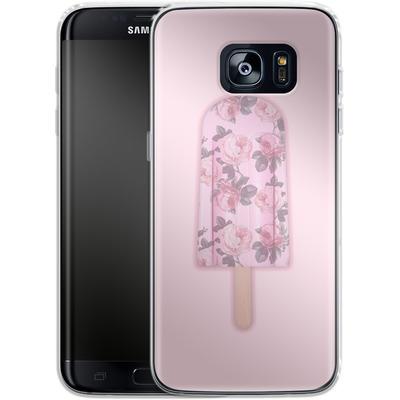 Samsung Galaxy S7 Edge Silikon Handyhuelle - Floral Popsicle von Emanuela Carratoni