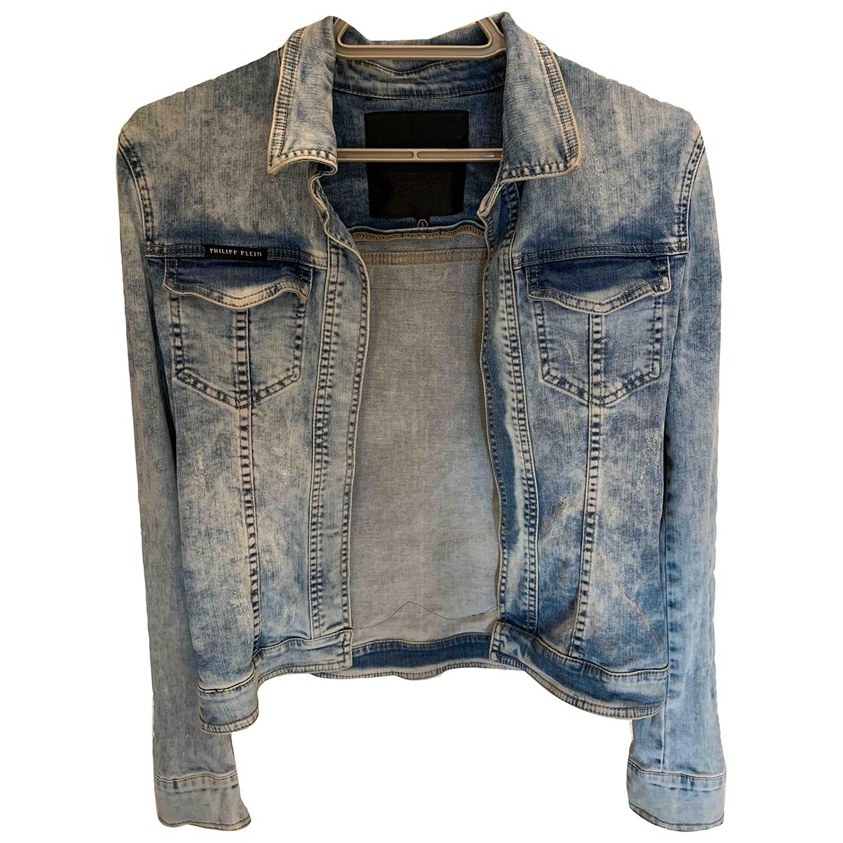 Philipp Plein N Blue Denim - Jeans jacket for Women S International