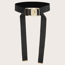Metal Buckle Tape Belt
