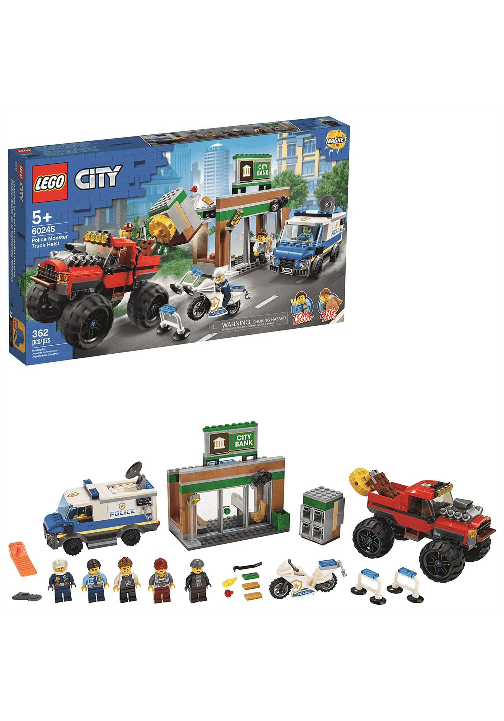 Monster Truck Heist LEGO City Police