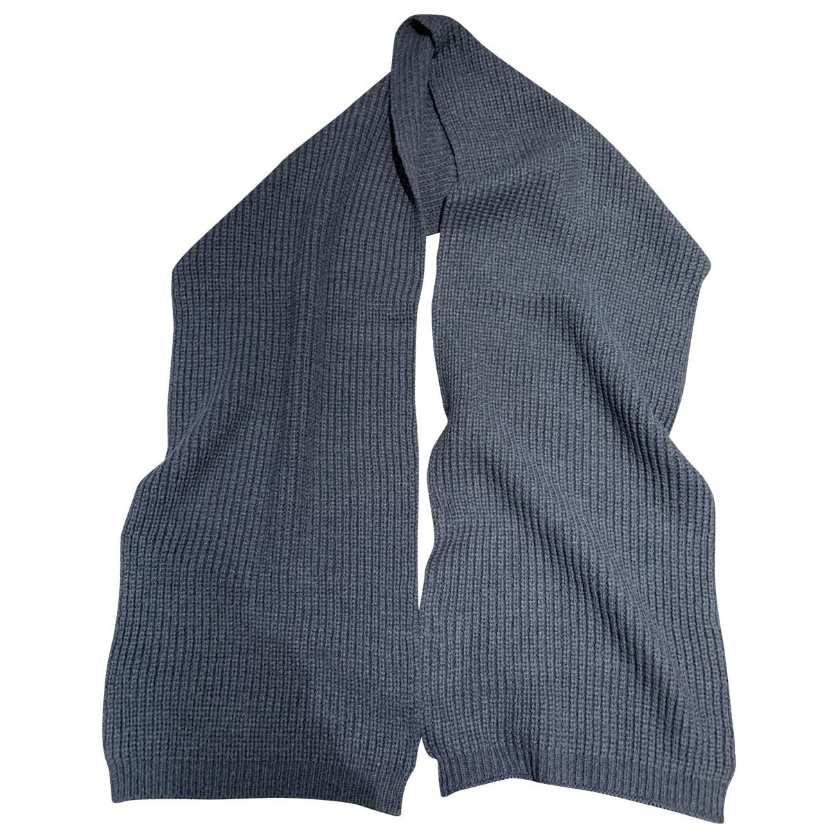 - Cheches.Echarpes   pour homme en laine - bleu