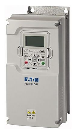 Eaton Inverter Drive, 3-Phase In, 0 → 400Hz Out 5.5 kW, 400 V, 12 A DG1, IP21 for use with 5.5 kW Motor, BACnet
