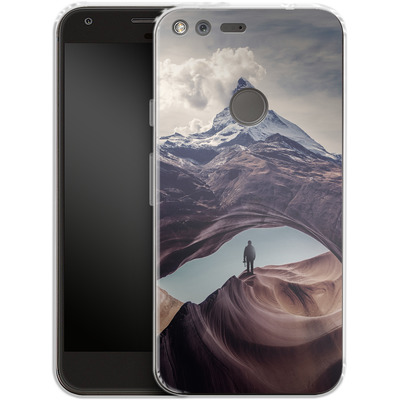 Google Pixel Silikon Handyhuelle - The Great Outdoors von Enkel Dika