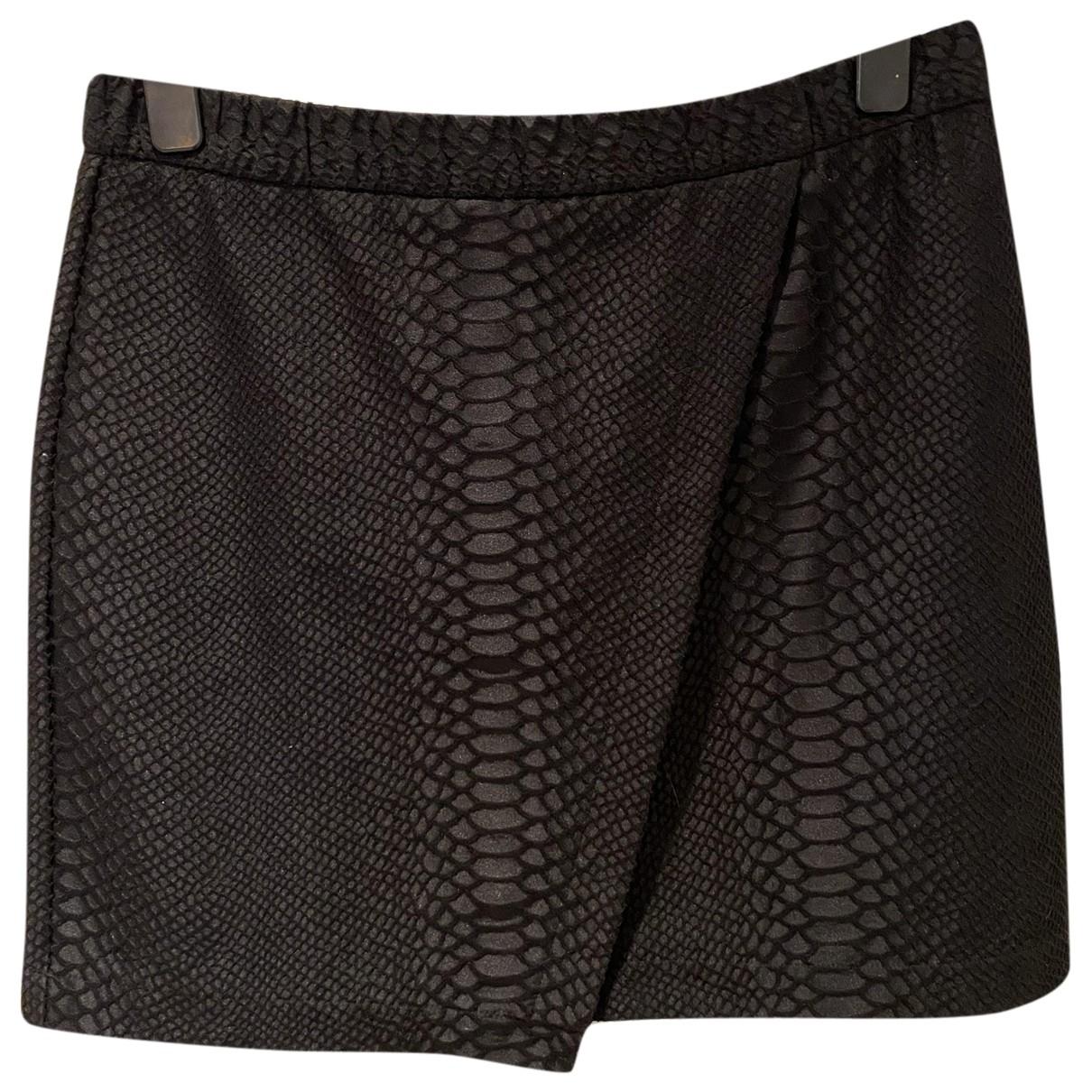 Topshop - Jupe   pour femme en coton - noir
