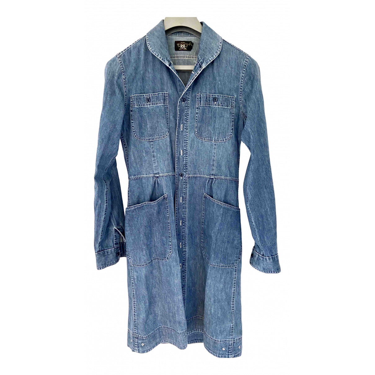 Ralph Lauren Double Rl \N Kleid in  Blau Denim - Jeans