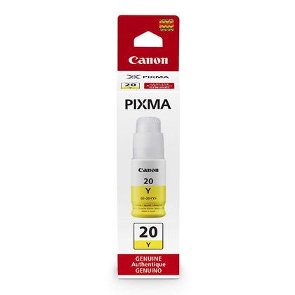 Canon GI-20 3396C001 Original Yellow Ink Bottle