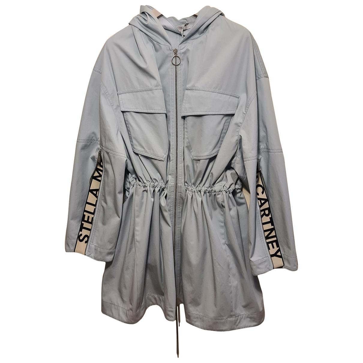 Stella Mccartney \N Blue Cotton coat for Women 12 UK