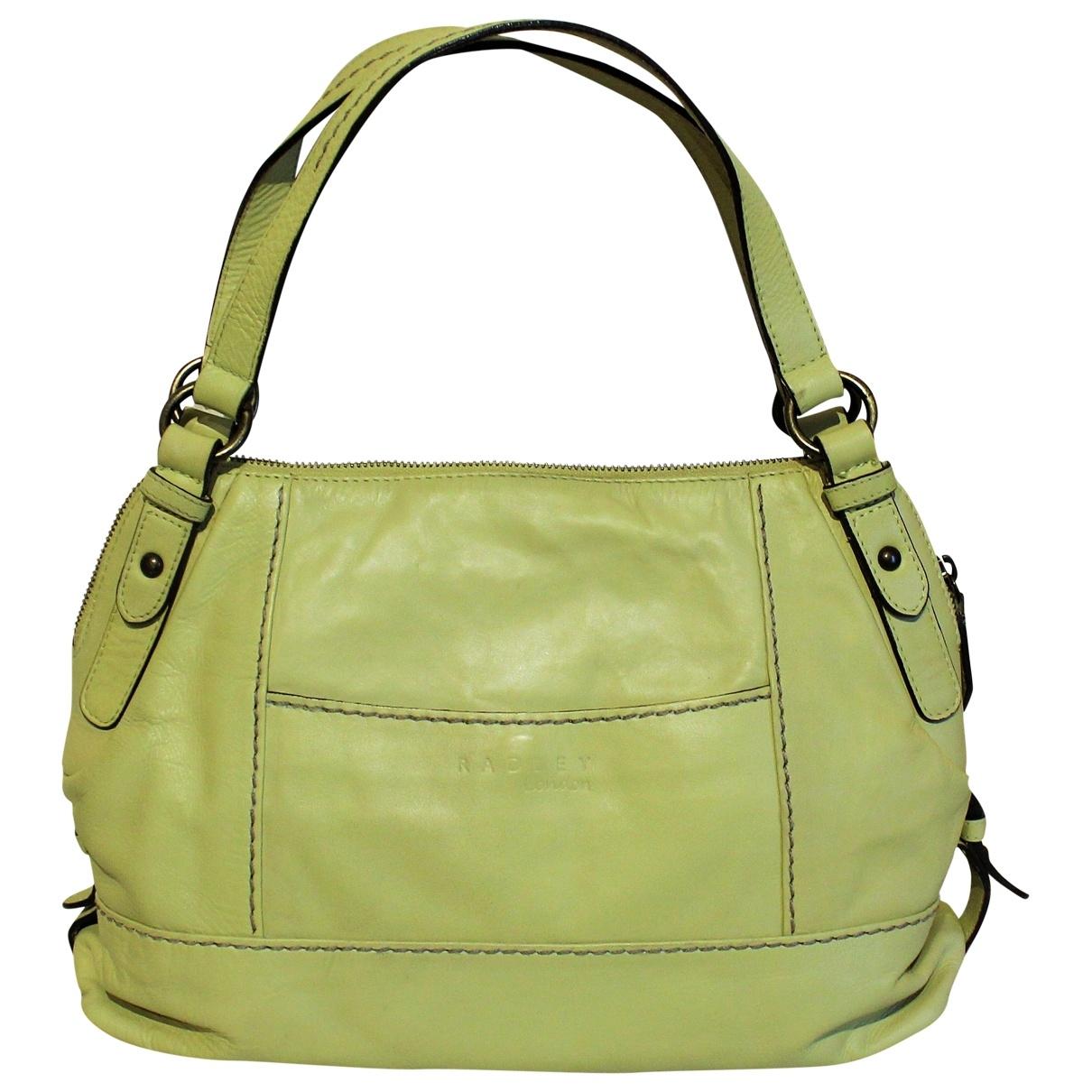 Radley London \N Handtasche in  Gruen Leder