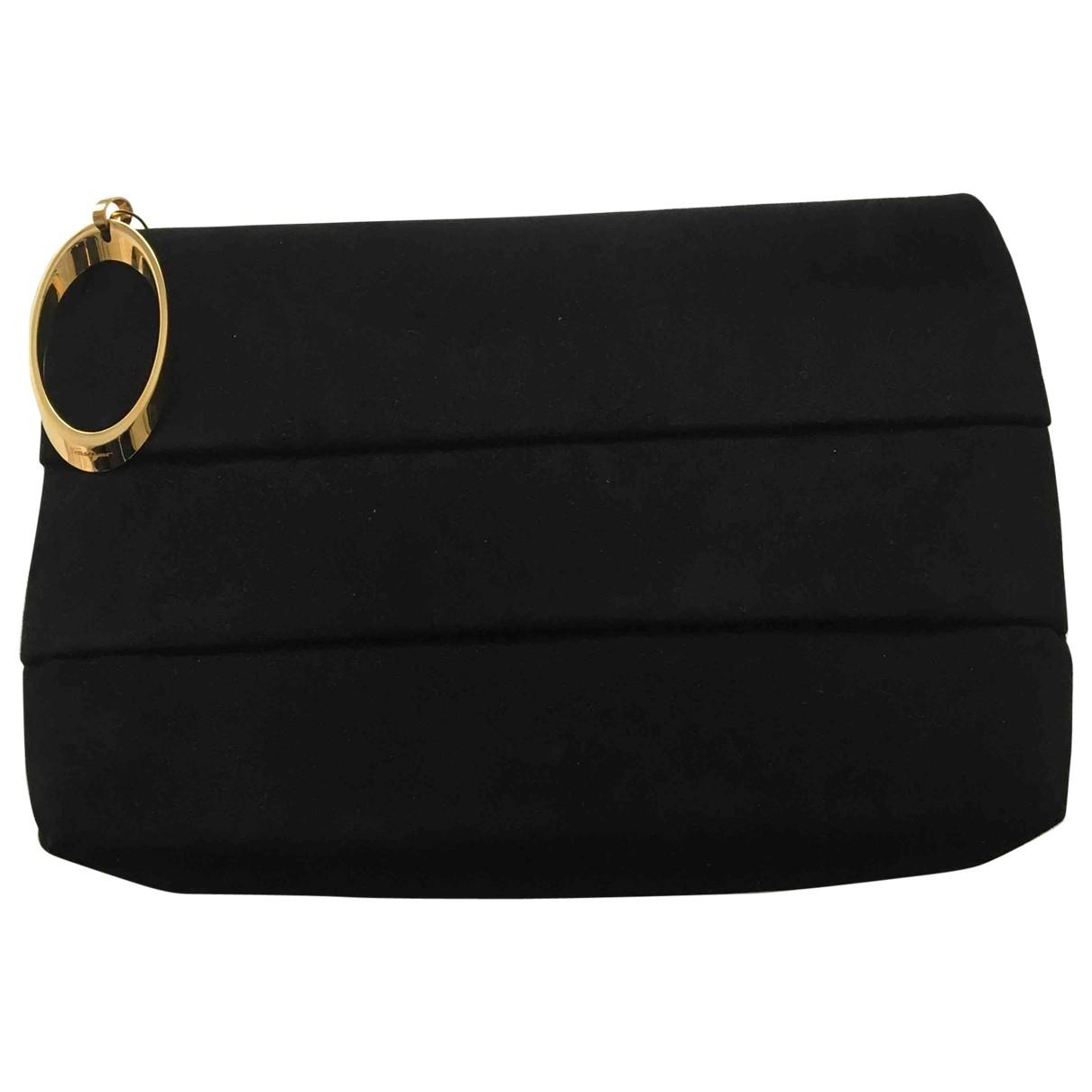Salvatore Ferragamo \N Black Leather Clutch bag for Women \N