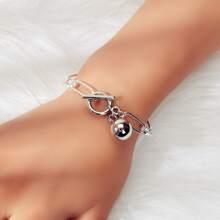 Armband mit rundem Ball Dekor