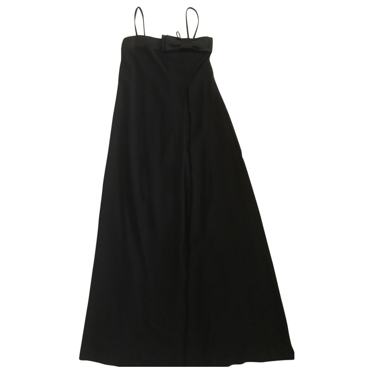 Armani Collezioni N Black dress for Women 44 IT