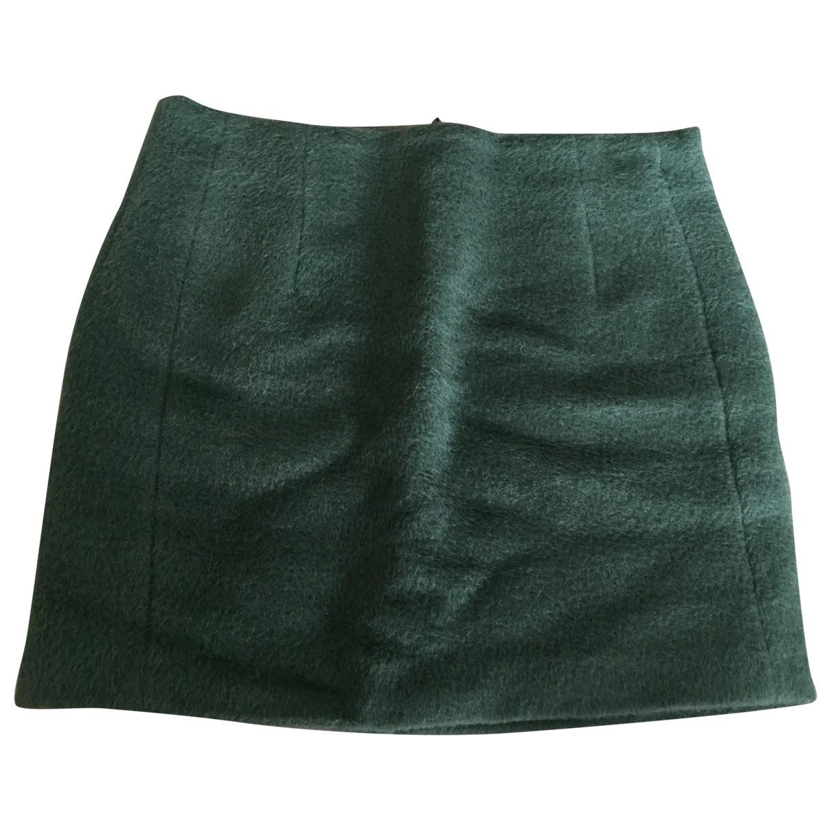 Acne Studios \N Green Wool skirt for Women 34 FR