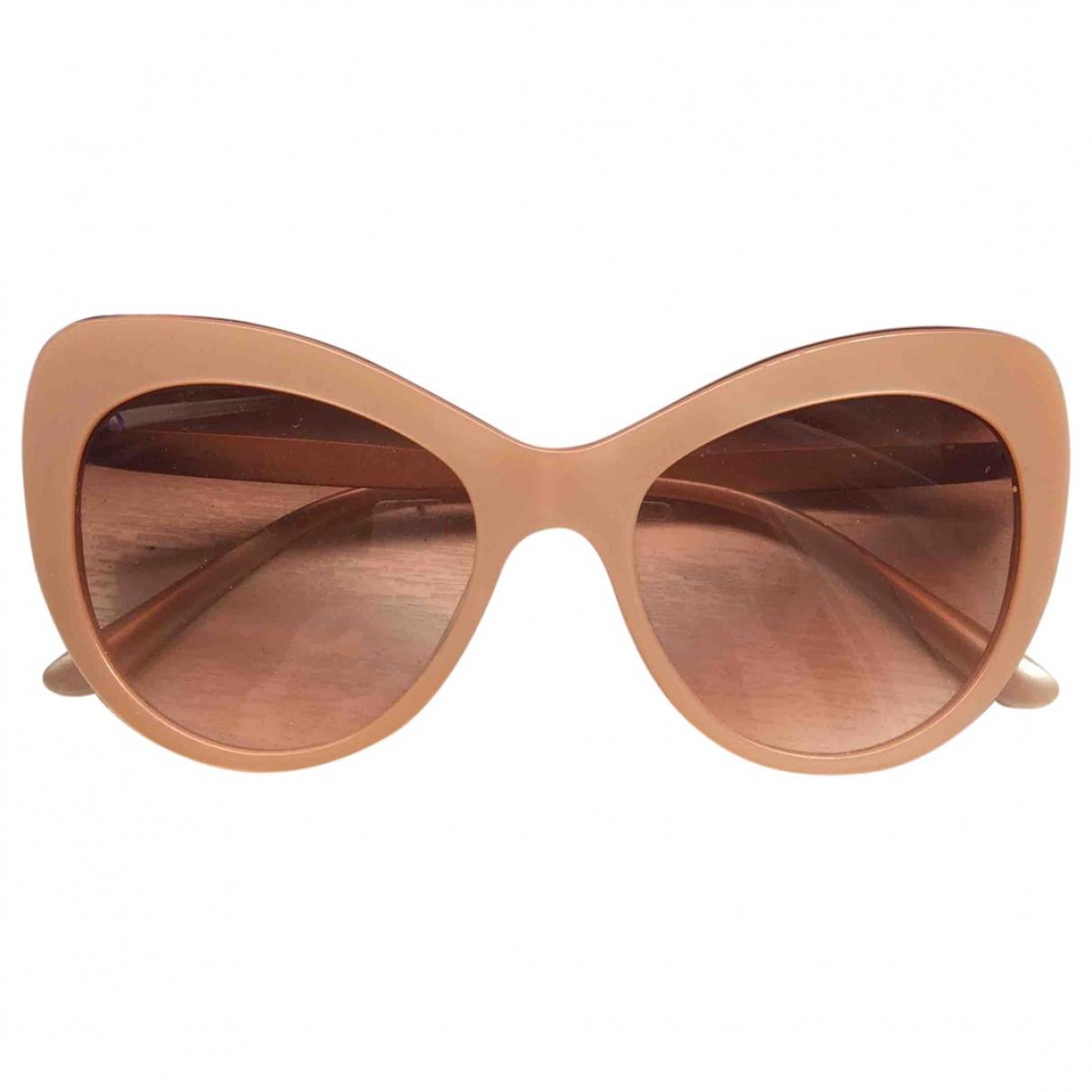 Dolce & Gabbana \N Sonnenbrillen in  Rosa Metall