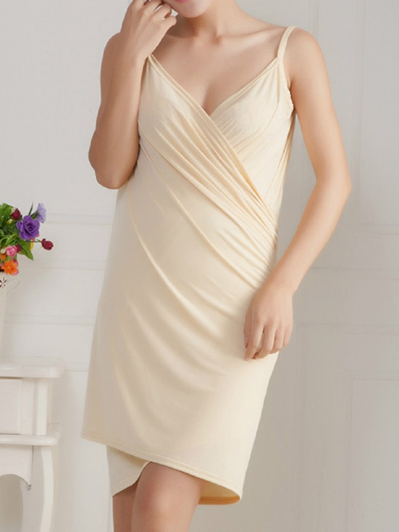 Ericdress Wearable Shoulder Straps Drying Bath Robe 140*70cm 220g