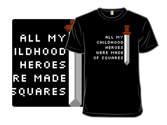 Square Heroes T Shirt