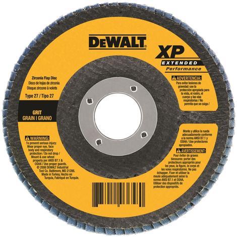 DeWalt 4-1/2 In. x 5/8 In.-11 40 g Type 27 HP Flap Disc