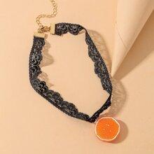 Schwarz Halsketten