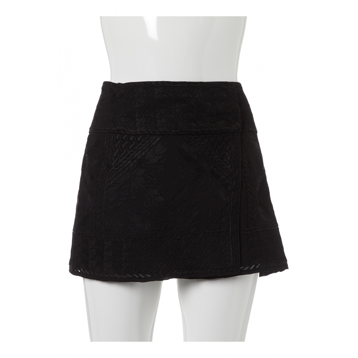 Isabel Marant \N Black Silk skirt for Women 40 FR