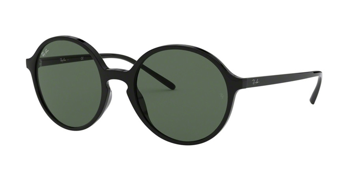 Ray-Ban RB4304F Asian Fit 901/71 Women's Sunglasses Black Size 53