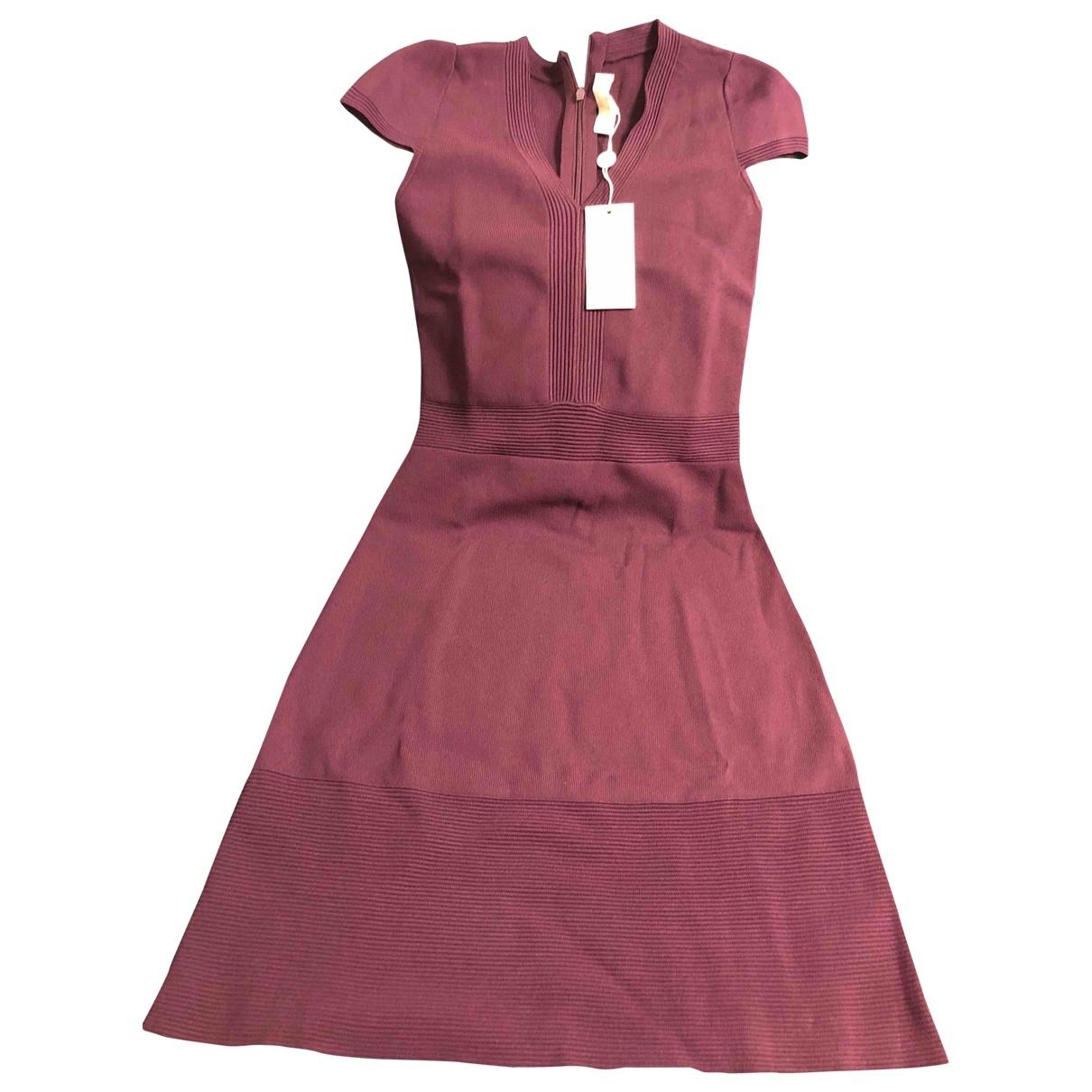 Michael Kors - Robe   pour femme - bordeaux