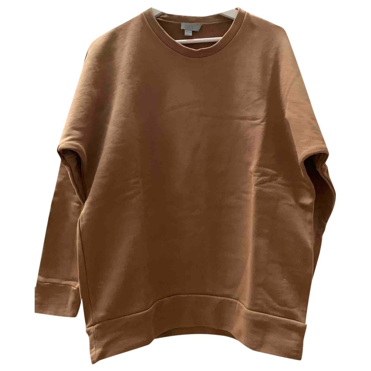 Cos \N Pullover.Westen.Sweatshirts  in  Kamel Baumwolle