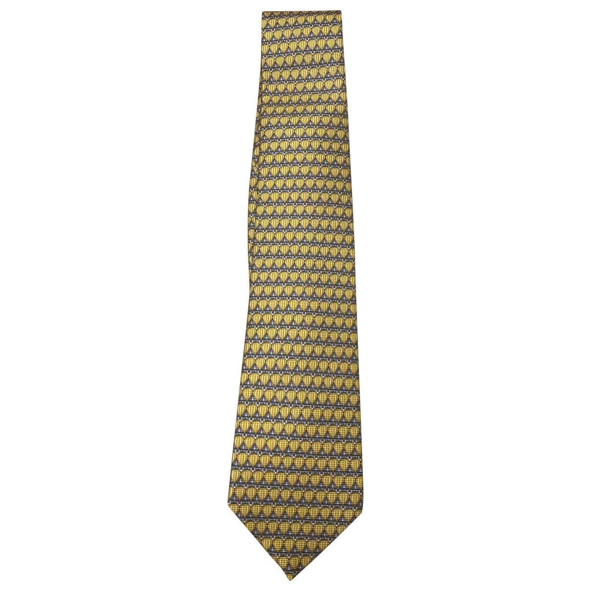Bvlgari N Gold Silk Ties for Men N