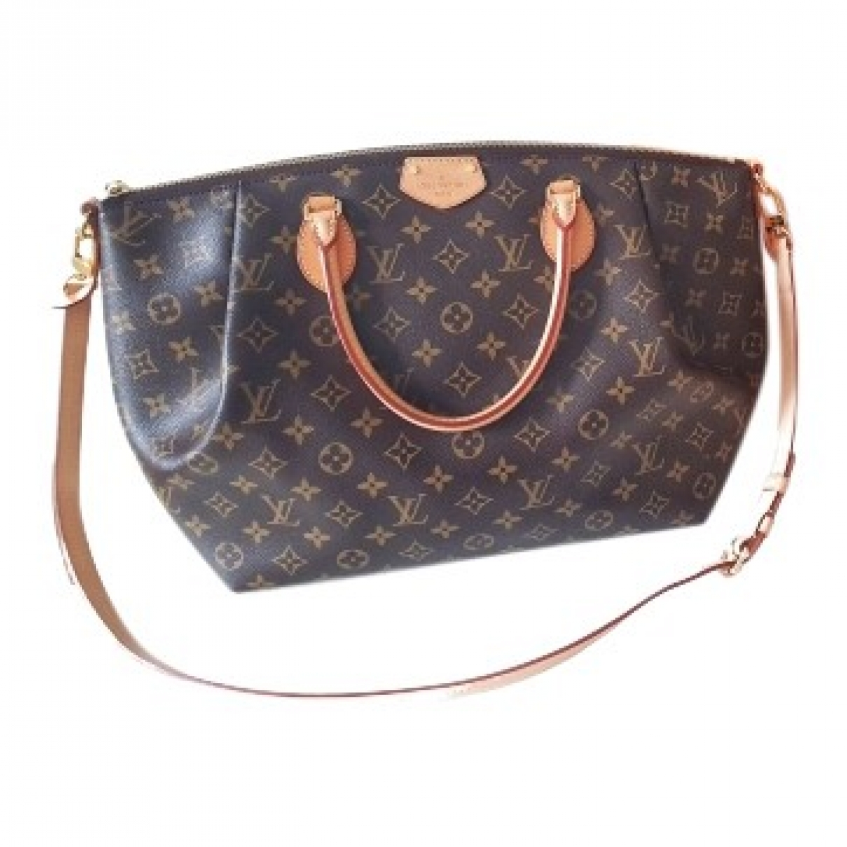 Louis Vuitton Turenne Brown Cloth handbag for Women \N
