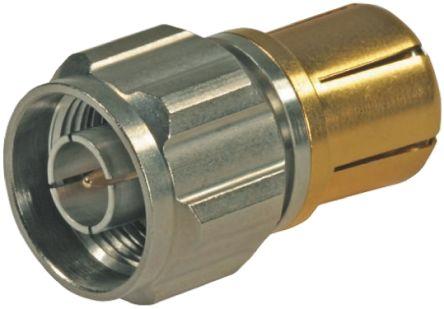 Huber & Suhner Straight 50Ω RF Adapter N Plug to N Socket 4GHz