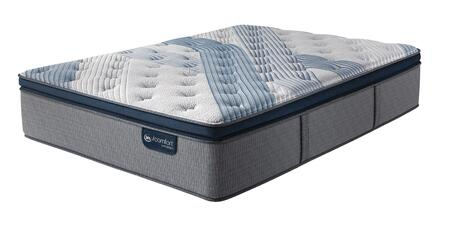 iComfort Hybrid 500820513-1020 Blue Fusion 5000 16 Twin Extra Long Cushion Firm Pillow Top Mattress with Micro Hybrid Coil Support  TempActiv Touch