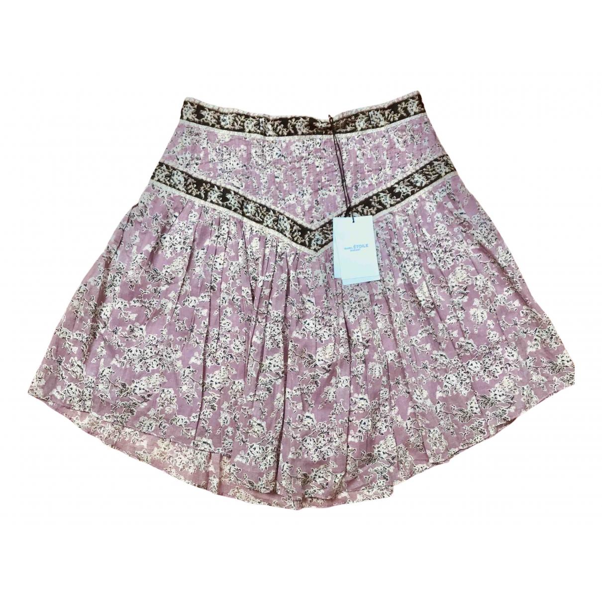Isabel Marant Etoile - Jupe   pour femme en coton - rose