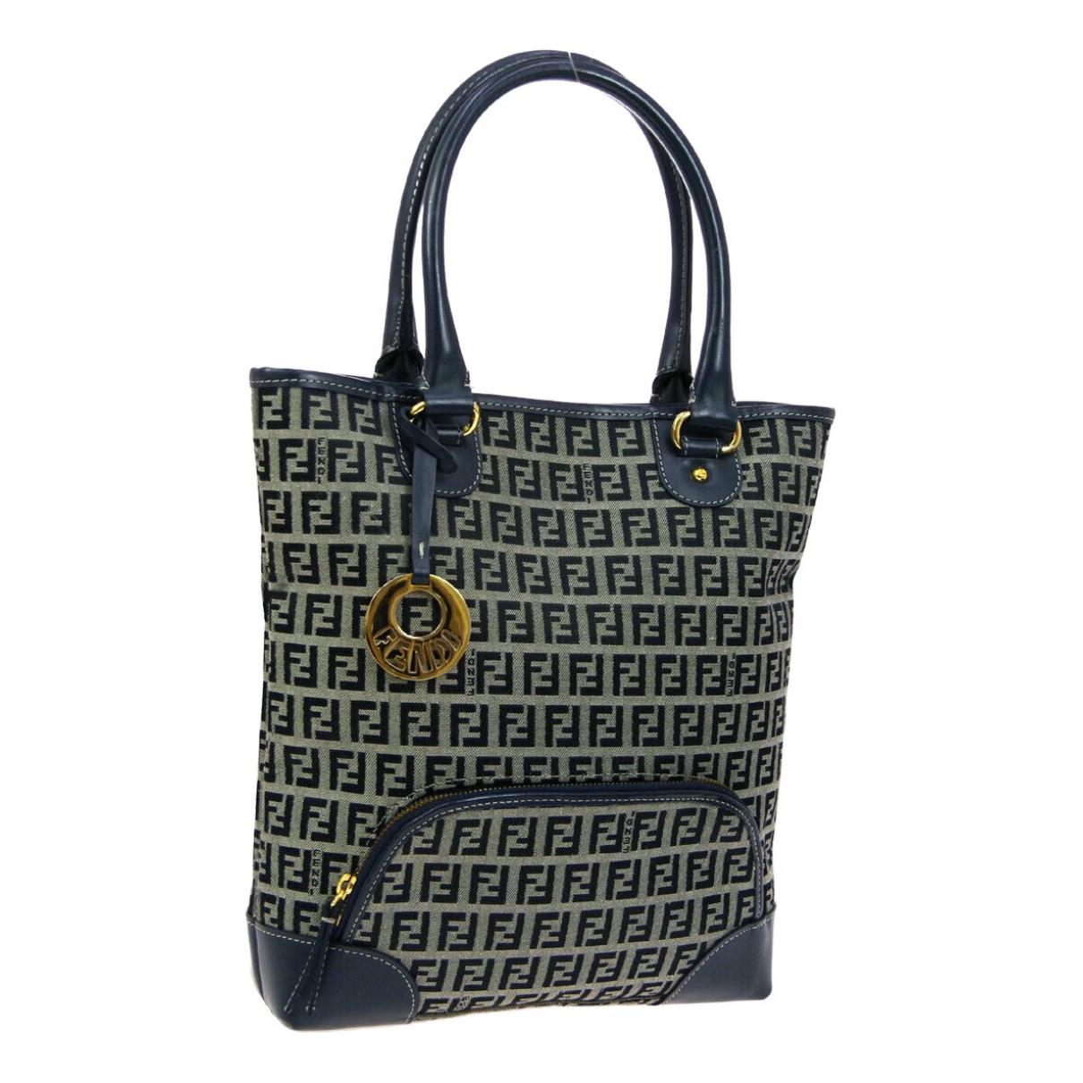 Fendi \N Navy Cloth handbag for Women \N