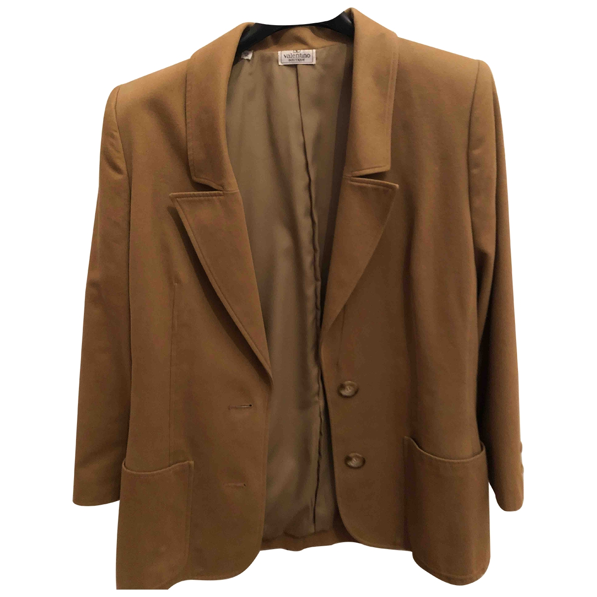Valentino Garavani \N Camel Cotton jacket for Women M International