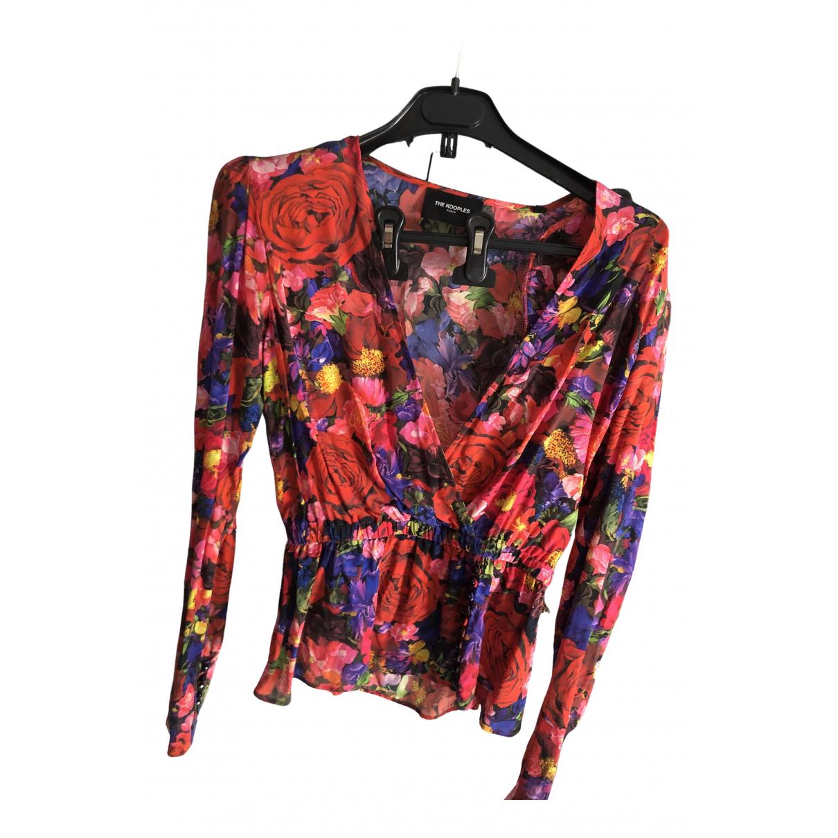 The Kooples Fall Winter 2019 Multicolour Silk  top for Women 1 0-5