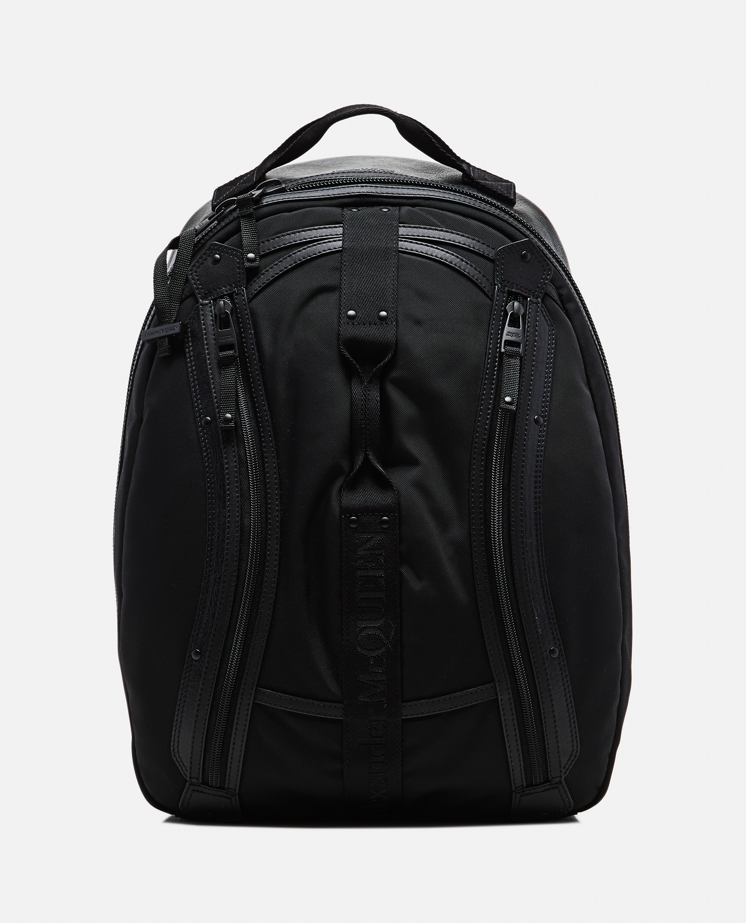 Backpack with logo