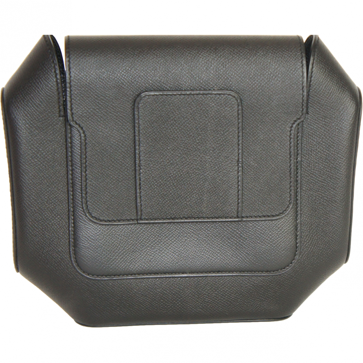 Hermès Octogone Navy Leather Clutch bag for Women \N