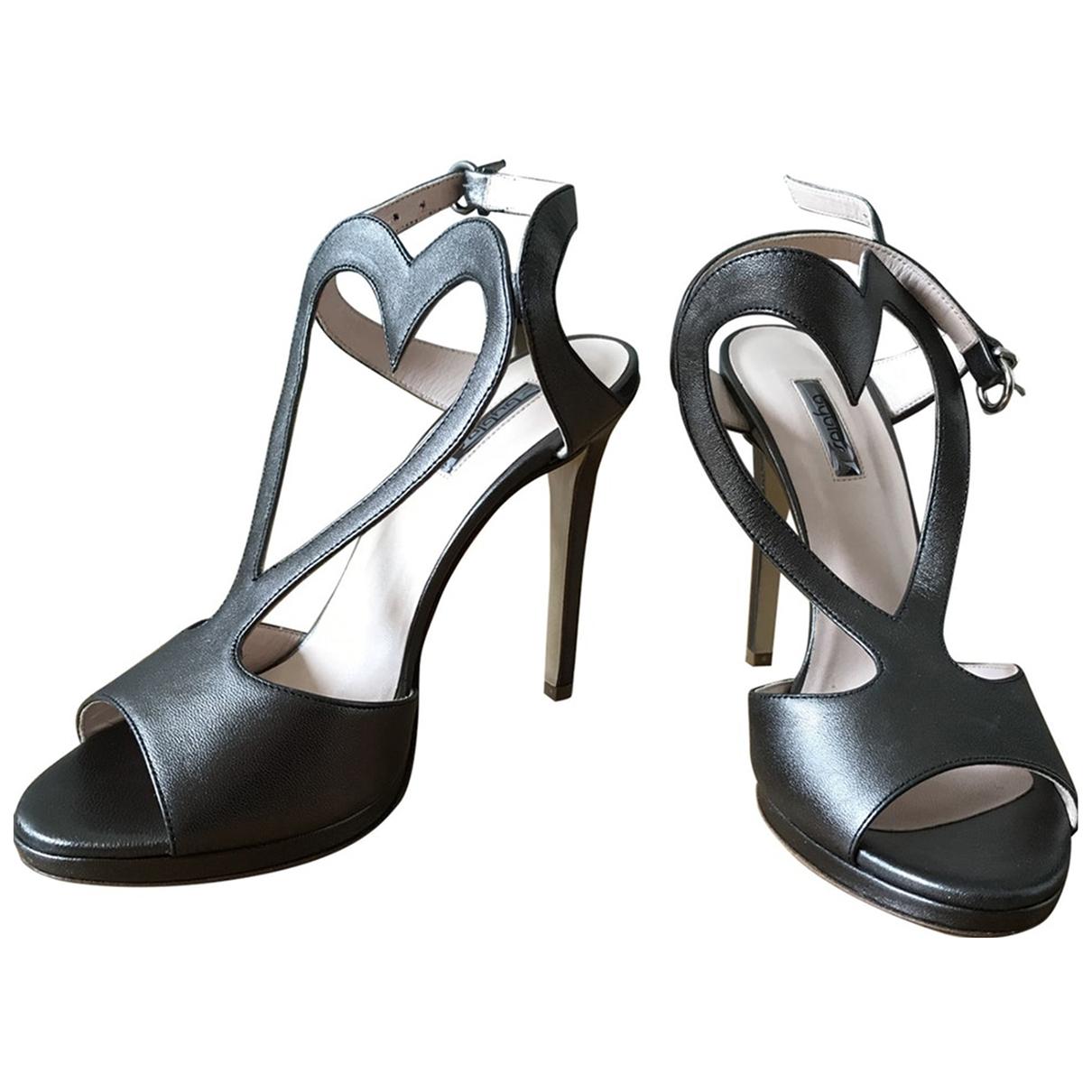 Byblos - Sandales   pour femme en cuir - multicolore