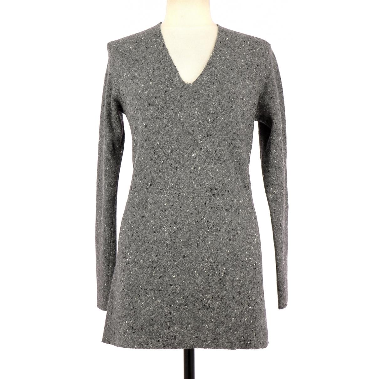 Irie - Robe   pour femme en laine - gris