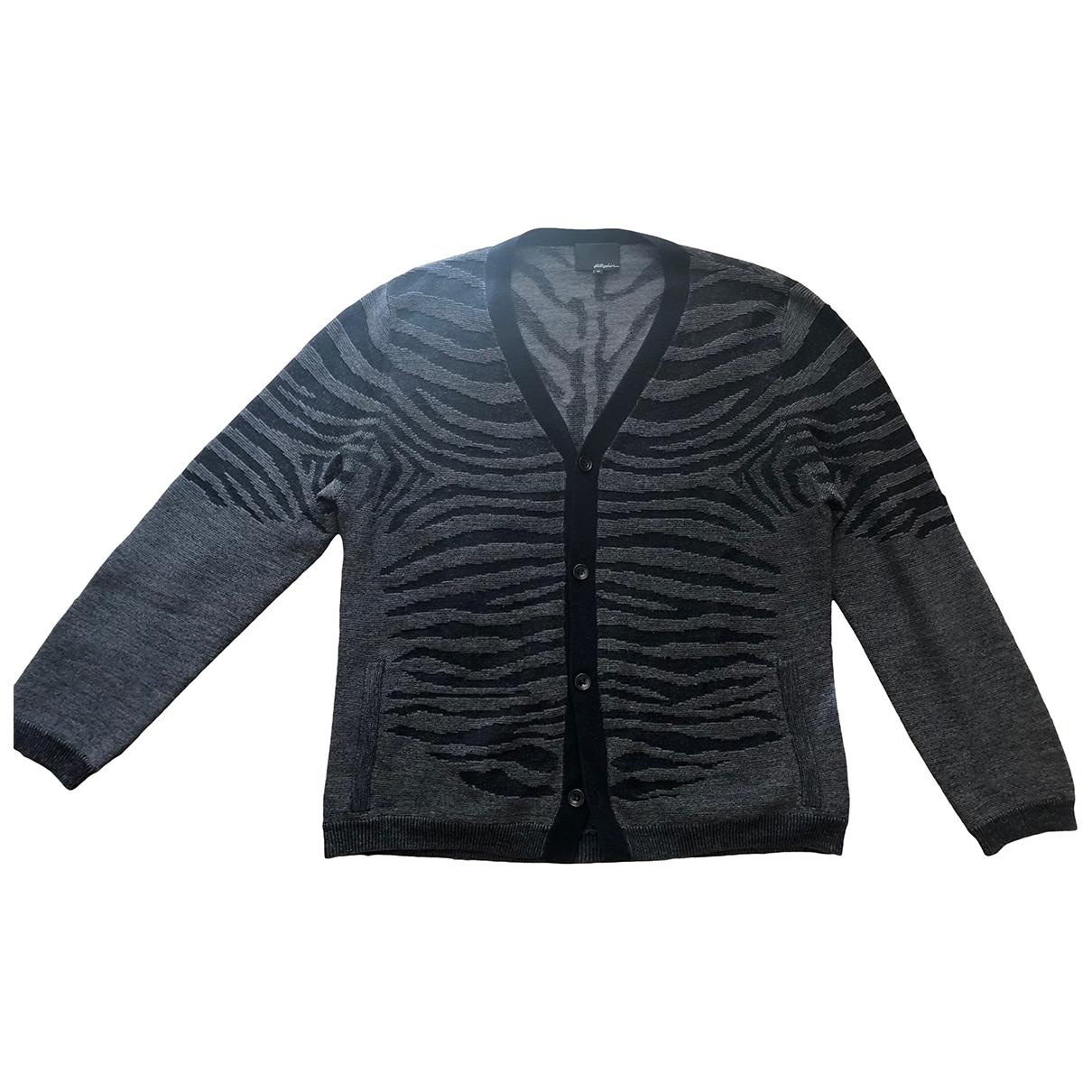 3.1 Phillip Lim \N Pullover.Westen.Sweatshirts  in  Anthrazit Wolle