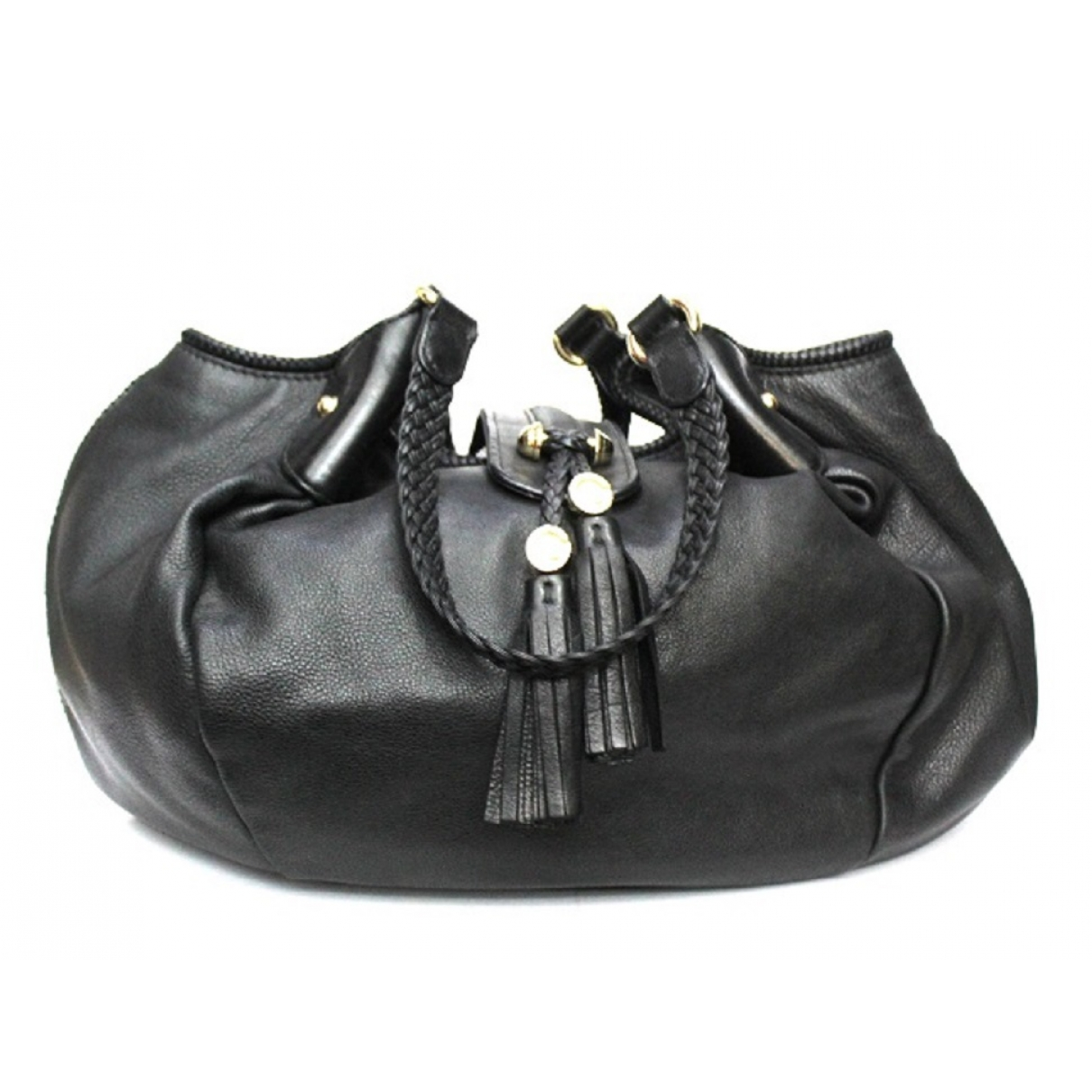 Gucci \N Black Leather handbag for Women \N