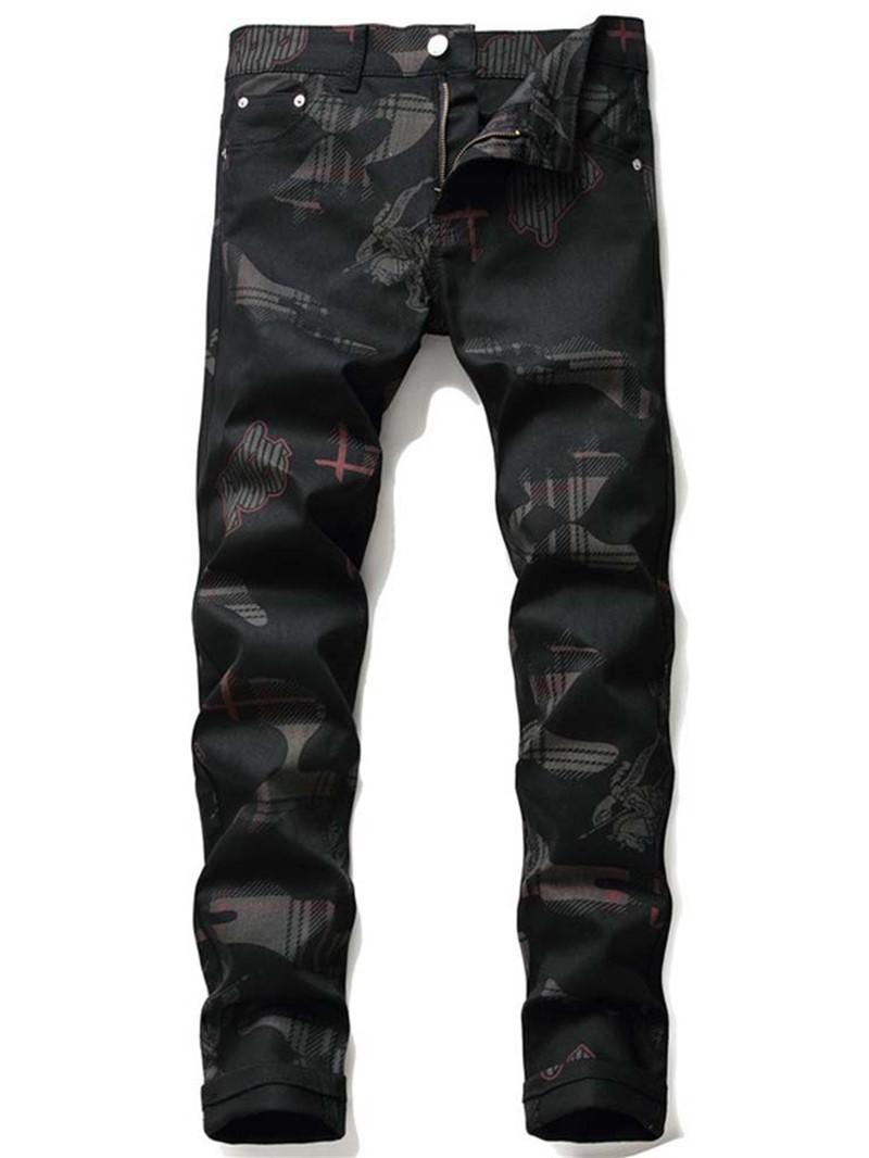 Ericdress Casual Denim Pants