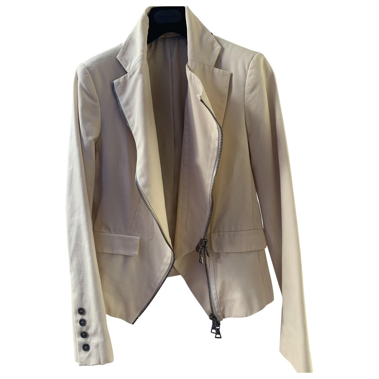 Alexander Mcqueen - Veste   pour femme en coton - beige