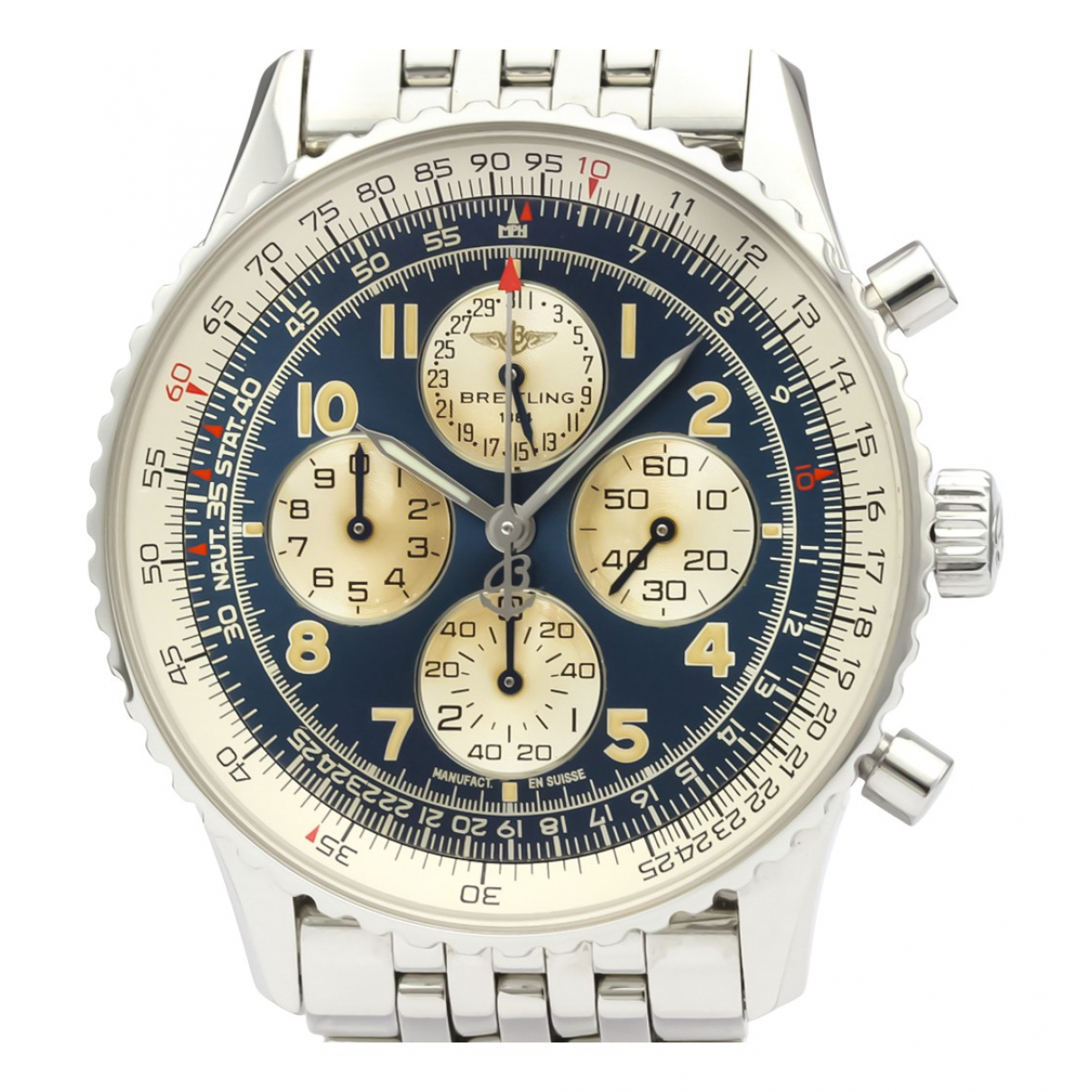 Breitling Navitimer Blue Steel watch for Women N