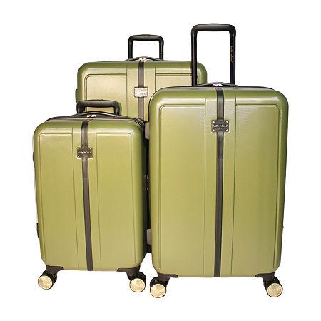 Kathy Ireland Darcy 3-pc. Hardside Lightweight Luggage Set, One Size , Green