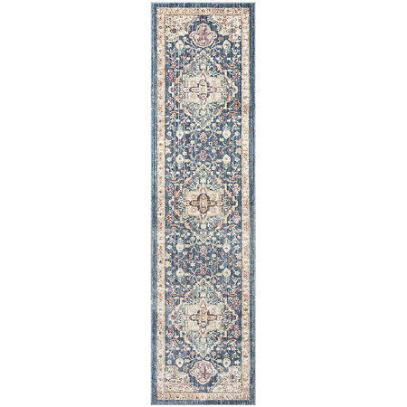Safavieh Illusion Collection Hermite Oriental Runner Rug, One Size , Multiple Colors